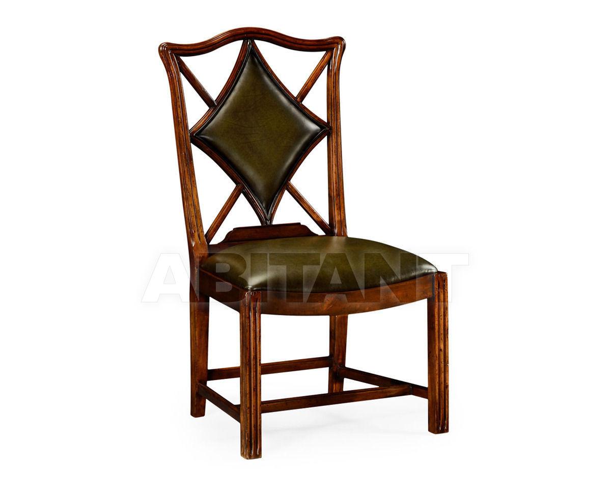 "Купить Стул Playing card ""Diamond"" Jonathan Charles Fine Furniture Windsor 493362-SC-WAL-L007"