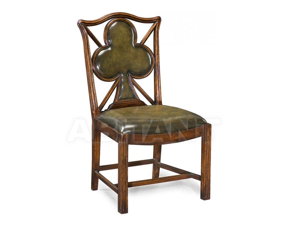 "Купить Стул Playing card ""Club"" Jonathan Charles Fine Furniture Windsor 493360-SC-WAL-L007"
