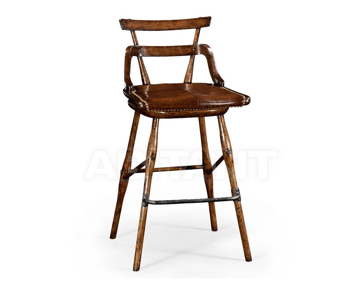 Купить Барный стул Jonathan Charles Fine Furniture Tudor Oak 494315-SC-TDO