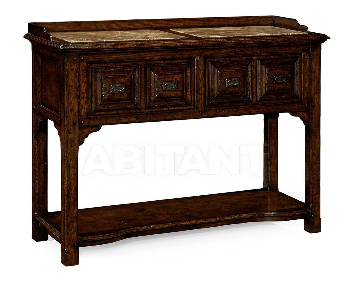 Купить Консоль Jonathan Charles Fine Furniture Tudor Oak 493564-TDO
