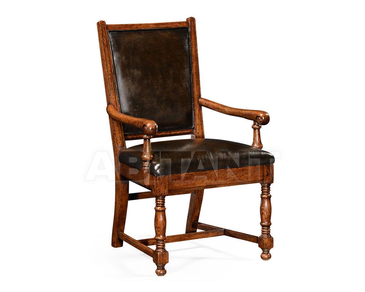 Купить Стул с подлокотниками Jonathan Charles Fine Furniture Tudor Oak 493323-AC-TDO-L009