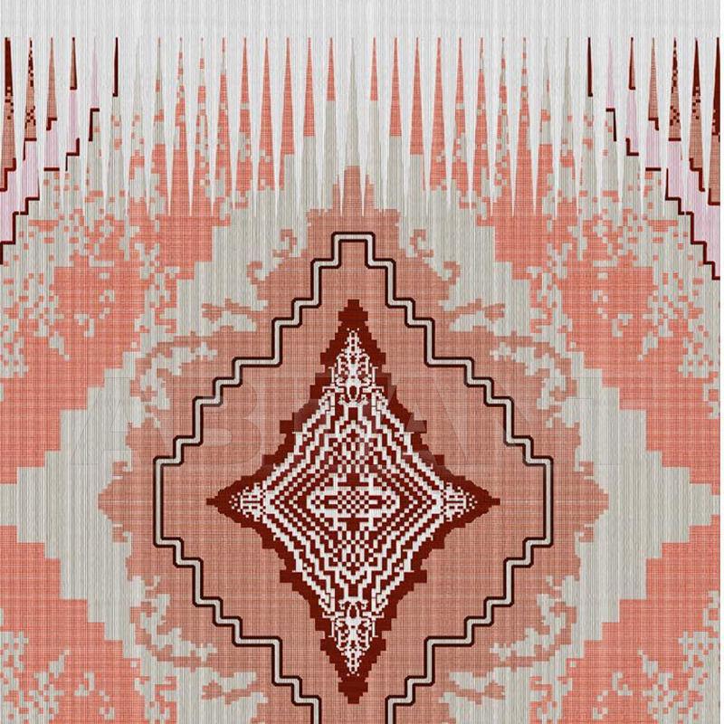 Купить Портьерная ткань DENTELLE DAME - RED Timorous beasties Rogues DIGI/DDAME/WV/RD/L2