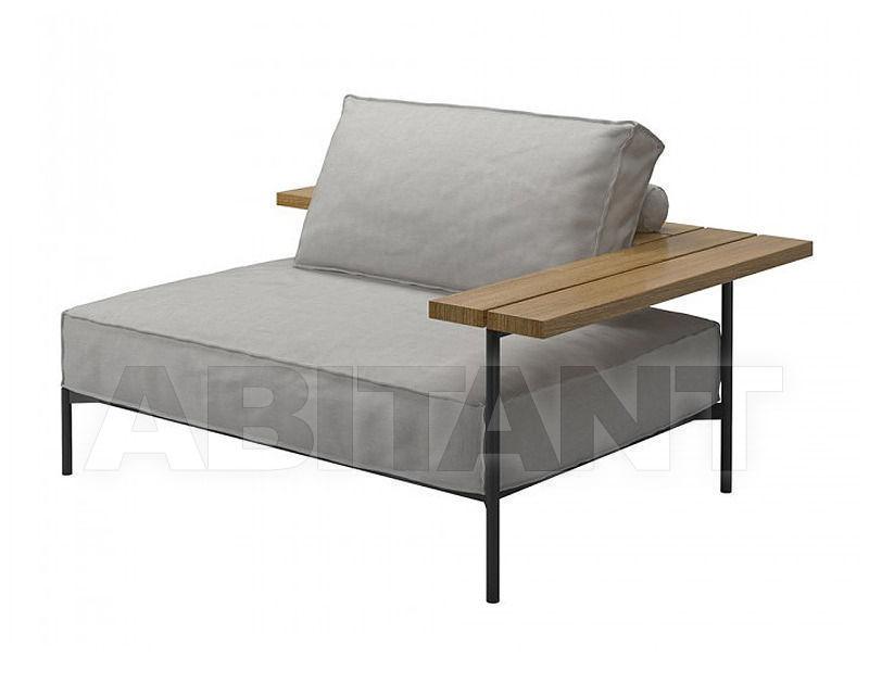 Купить Кресло для террасы Gloster Furniture Limited Tray 7300 MSGB