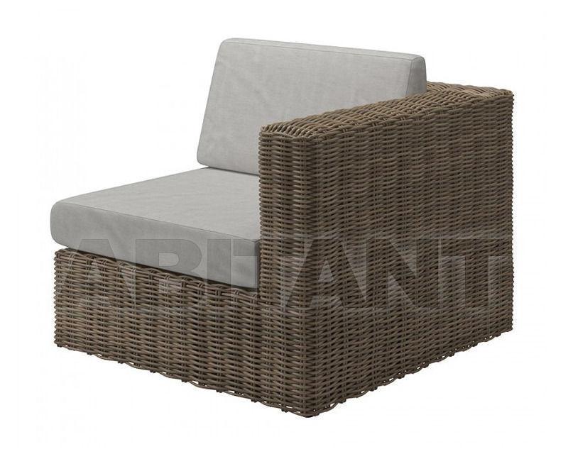 Купить Кресло для террасы Gloster Furniture Limited Havana Modular 441A WSG