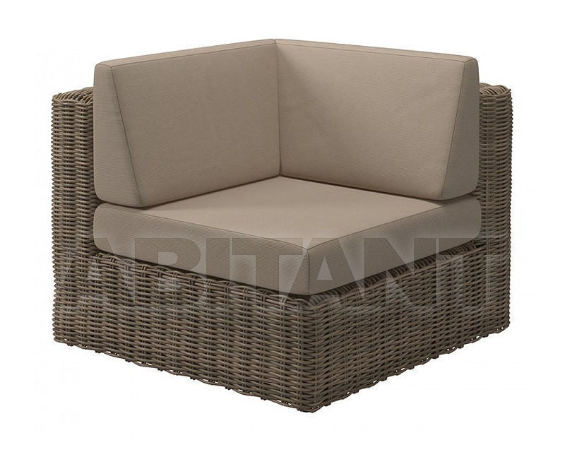 Купить Кресло для террасы Gloster Furniture Limited Havana Modular 440 WCM