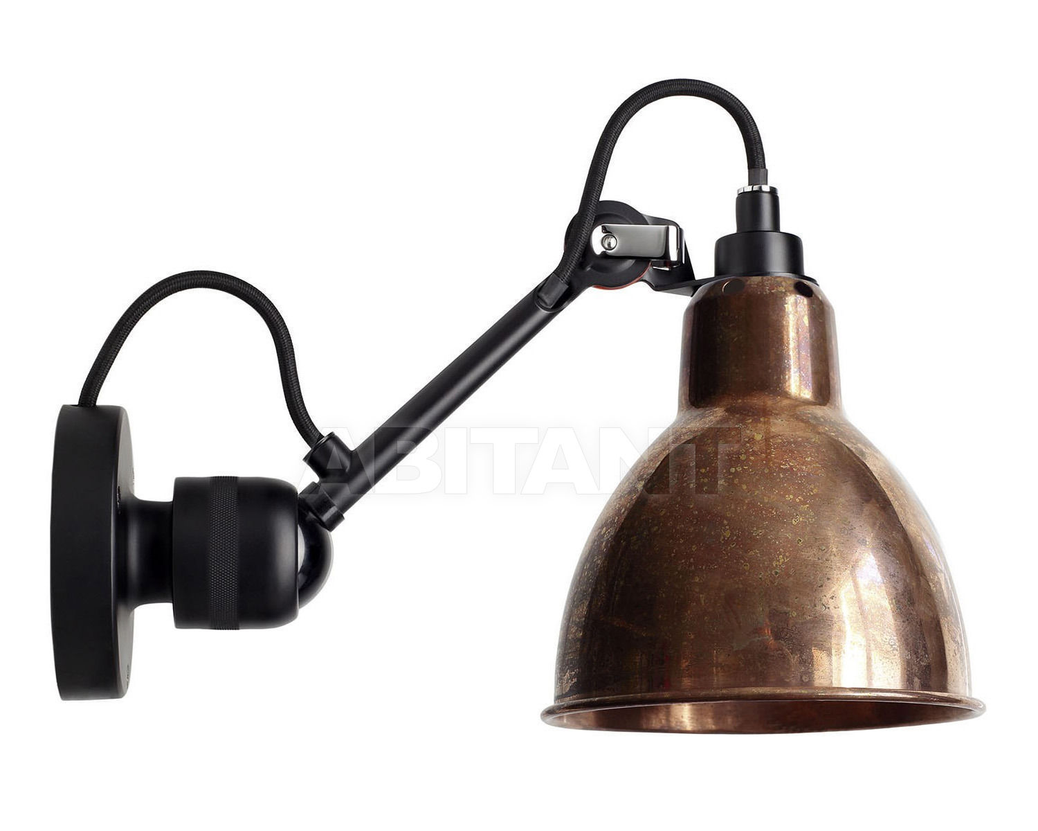 Купить Светильник настенный La Lampe Gras by DCW éditions GRAS LAMPS 304 BL-COP-RAW