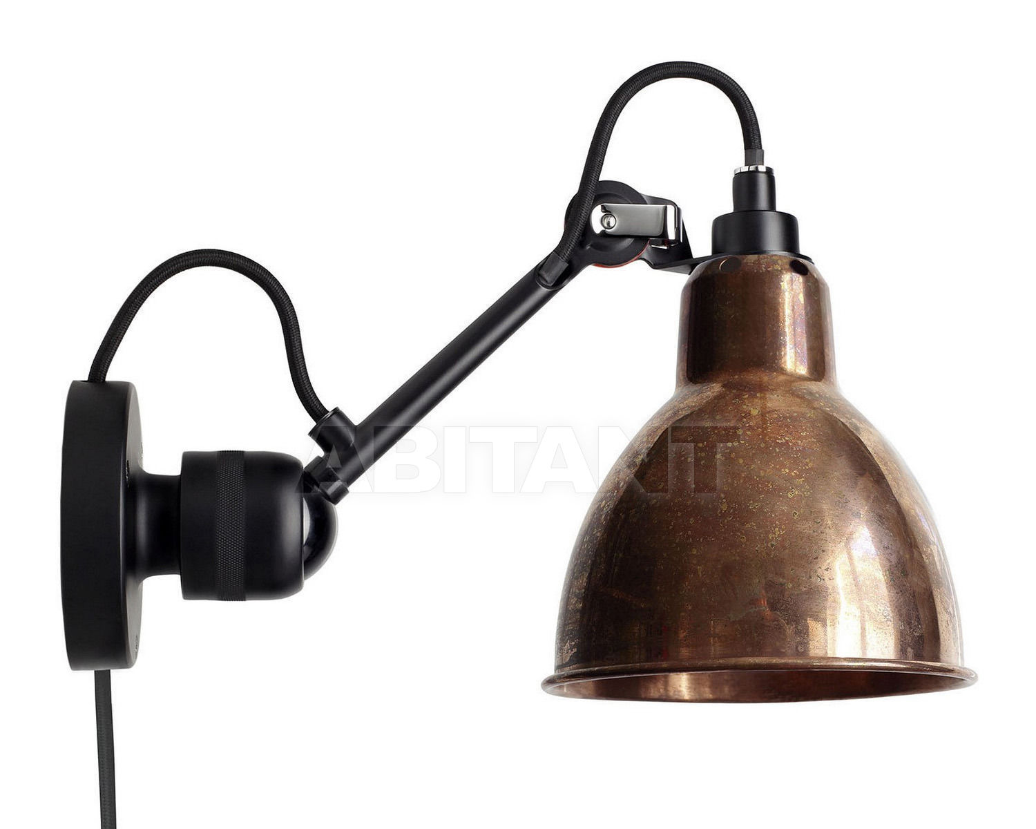 Купить Светильник настенный La Lampe Gras by DCW éditions GRAS LAMPS 304 CA BL-COP-RAW