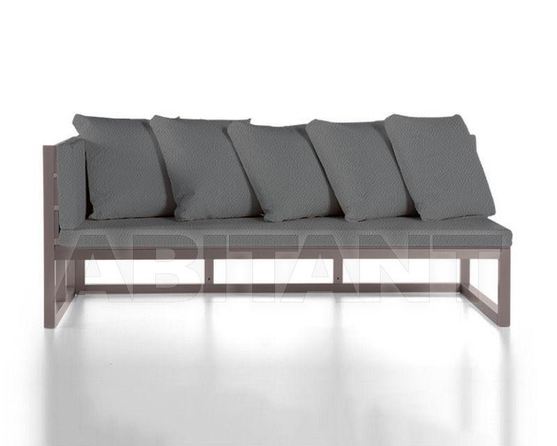 Купить Диван для террасы Gandia Blasco 2015 Sofa Modular 1 Saler Náutica grey